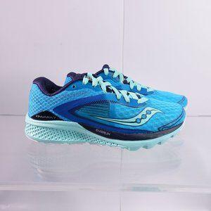 Saucony Kinvara 7 Running Shoes S10298-4 Teal/Navy